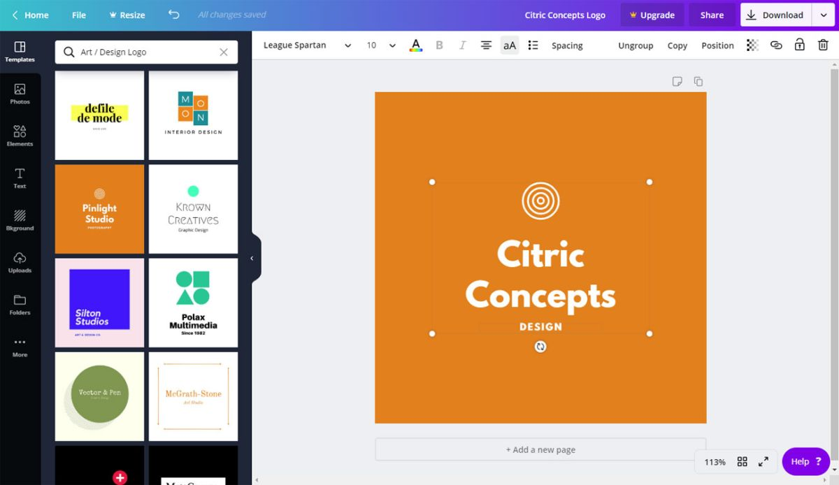 8 Of The Best Free Logo Design Tools Creative Bloq