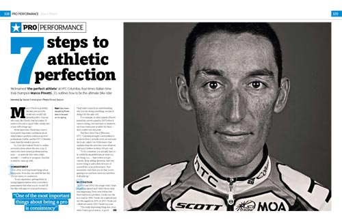 Pro Performance, Cycle Sport April 2010 issue