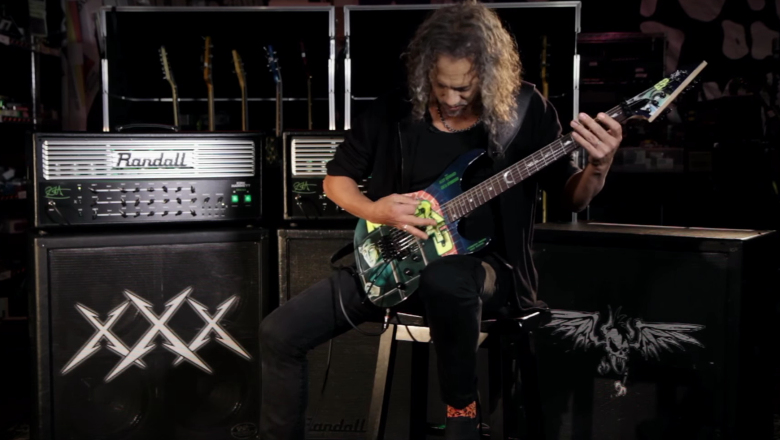 "Kirk Hammett Says New Signature Randall Amp ""Instantly Became Part"