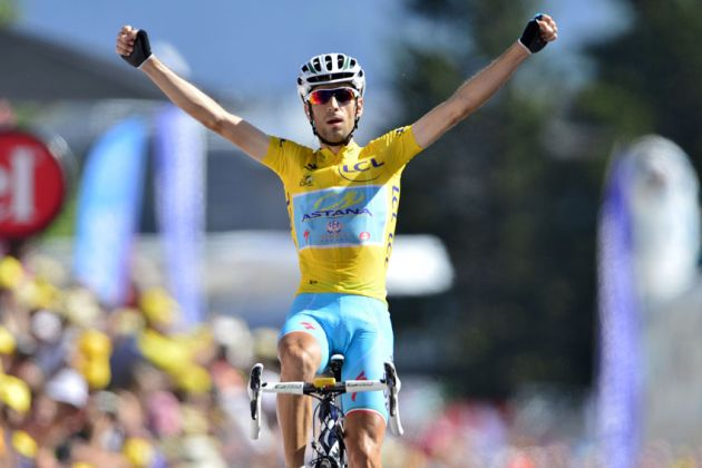 Vincenzo Nibali wins Stage 13 of the 2014 Tour de France