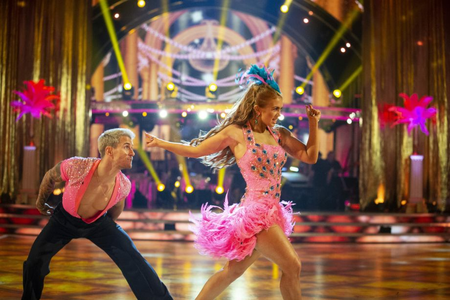 Strictly Come Dancing 2020 Maisie Smith dancing