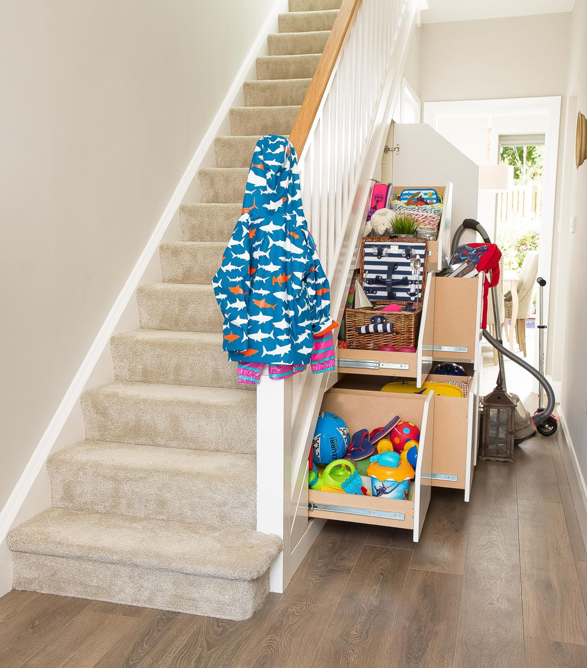 Under Stairs Storage 23 Handy Ways To Make The Most Of Your Space Real Homes