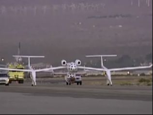 SpaceShipOne Takes Flight for Second X Prize Attempt