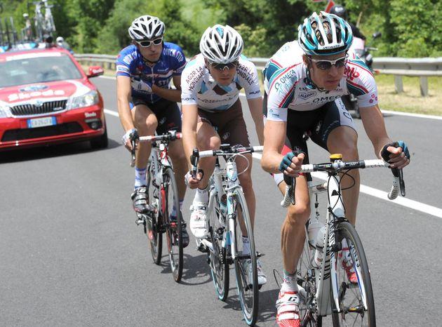 Charly Wegelius escape, Giro d'Italia 2010, stage 10