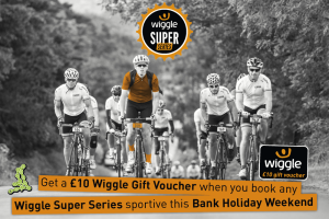 Wiggle Super Series voucher offer