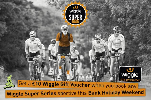 Wiggle Super Series voucher offer