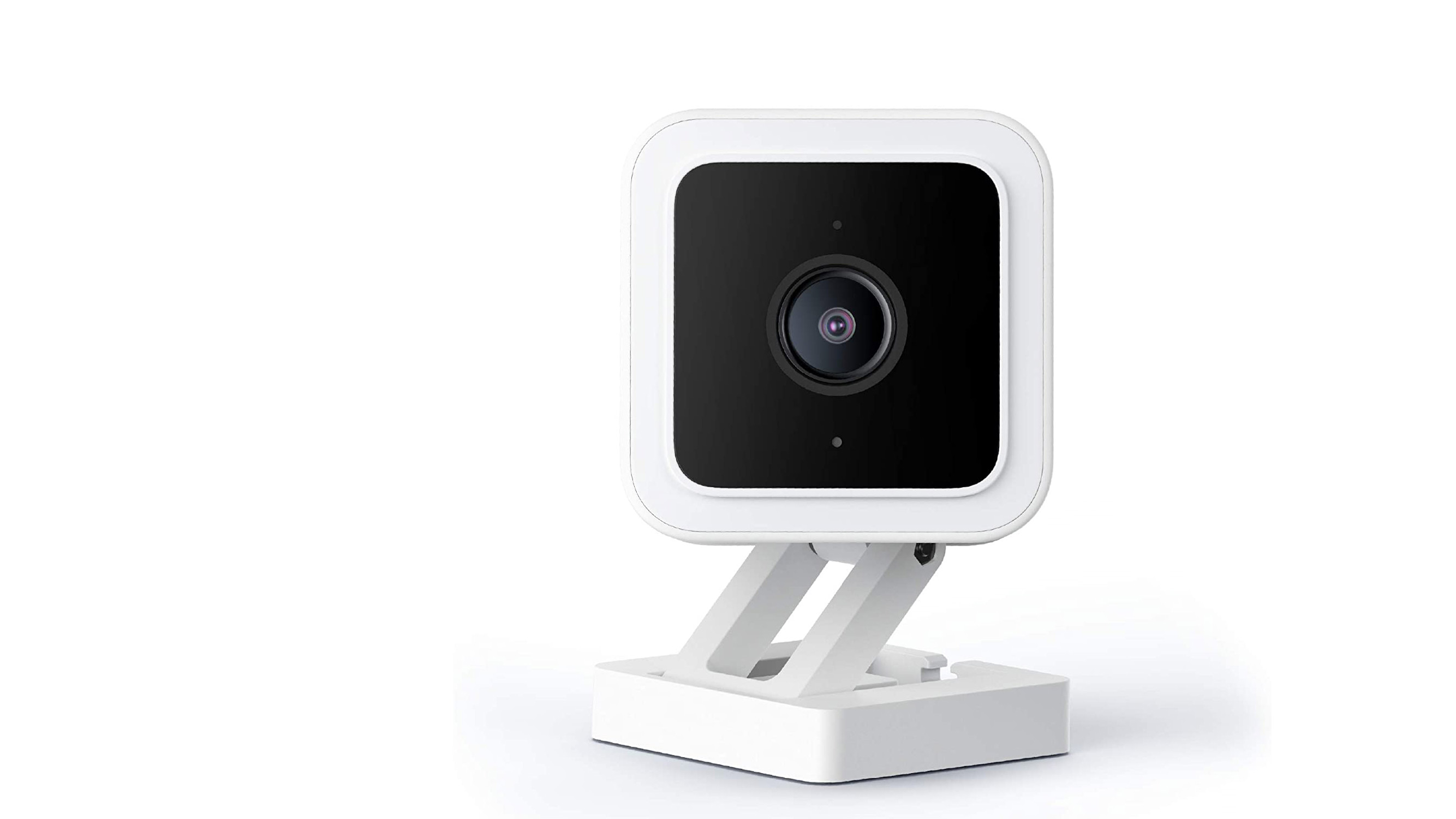 The Wyze Cam V3 on a white background