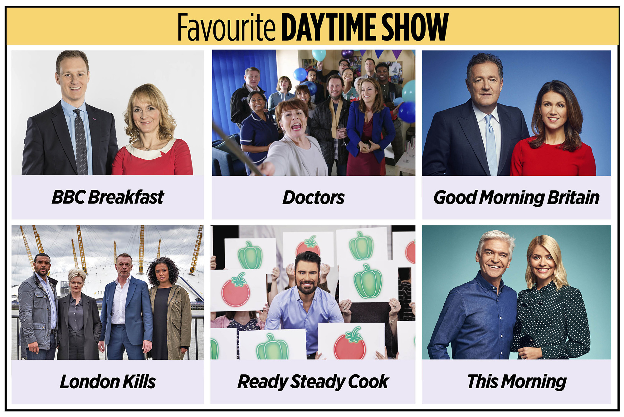 Premios a la hora favorita del día TV Times 2020