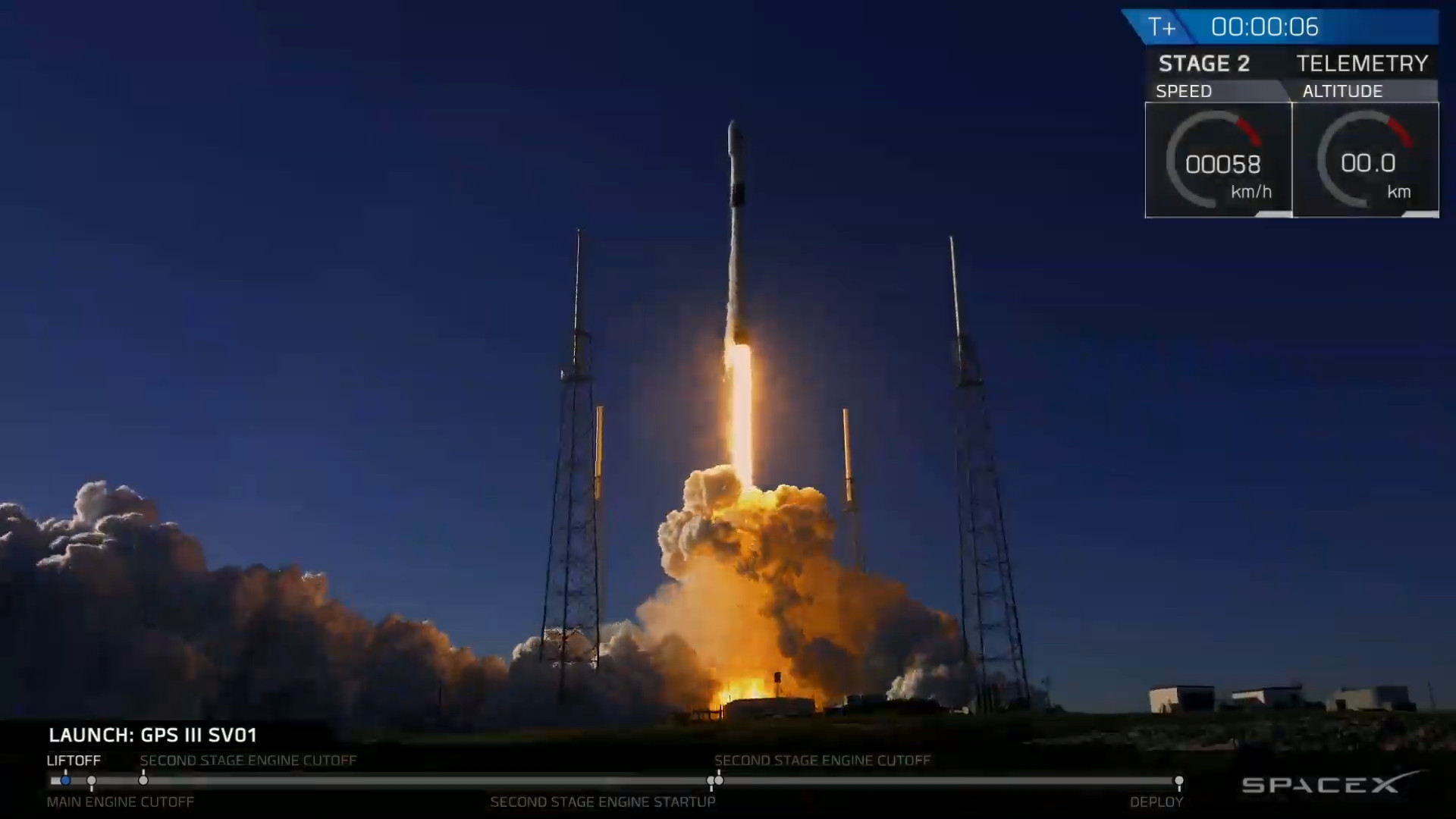 SpaceX Launches Super-Accurate Next-Gen GPS Satellite for US