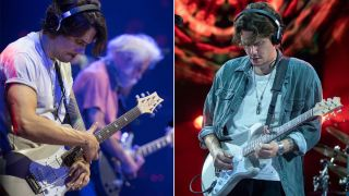 John Mayer performing live with Dead & Company