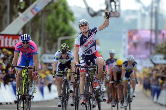 Andre Greipel wins, Tour de France 2012, stage four