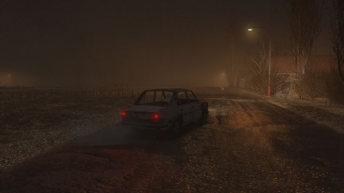 Driving horror game Beware shows off a spooky map and killer trucks