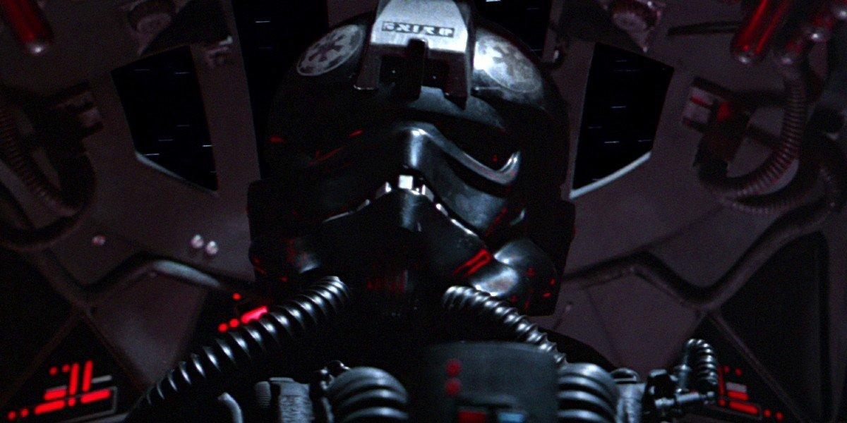 Tie Fighter Pilot in Star Wars