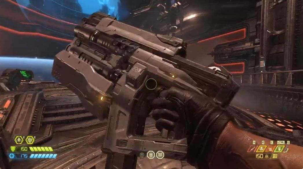 If you miss the pistol in Doom Eternal, there's a way to access it