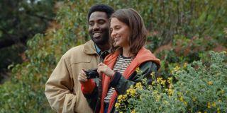 John David Washington and Alicia Vikander in Beckett