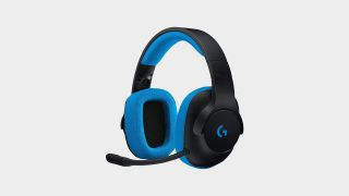 Save over 50% on this very very blue Logitech gaming headset at Walmart
