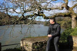 TV tonight Agatha Christie's great-grandson James at her old home Greenway