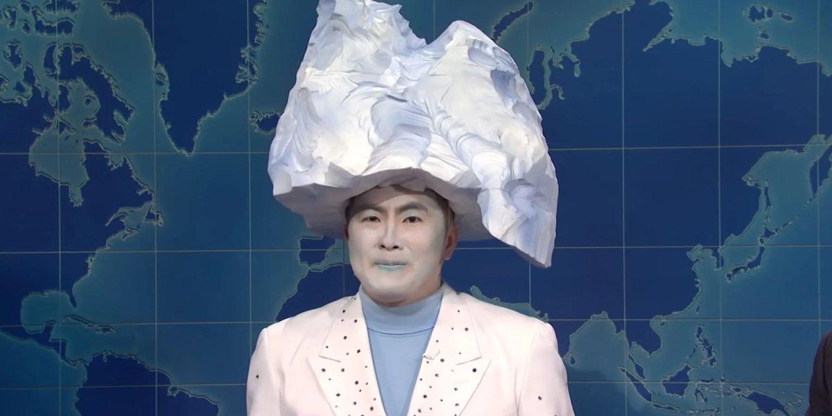 Bowen Yang as Iceberg on Saturday Night Live