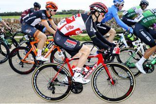 Lotto Soudal's Carl Fredrik Hagen in action at the 2020 Challenge Mallorca race the Trofeo Felanitx