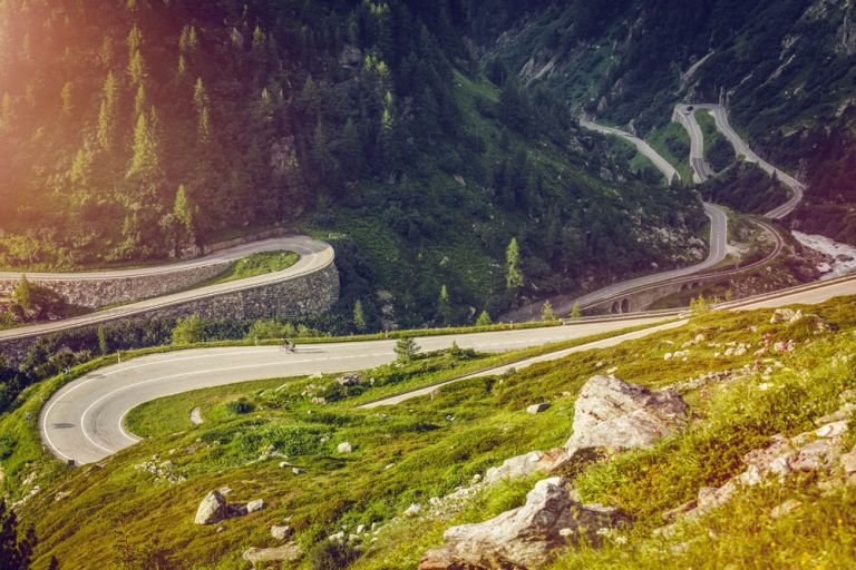 Cycling in Valais