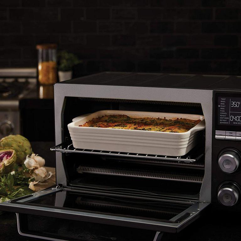Calphalon Quartz Heat Countertop Toaster Oven, Stainless Steel