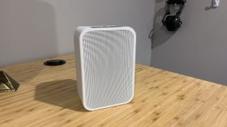 A speaker that is compact, but packs a punch