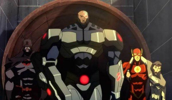 The Flash Cyborg Flashpoint