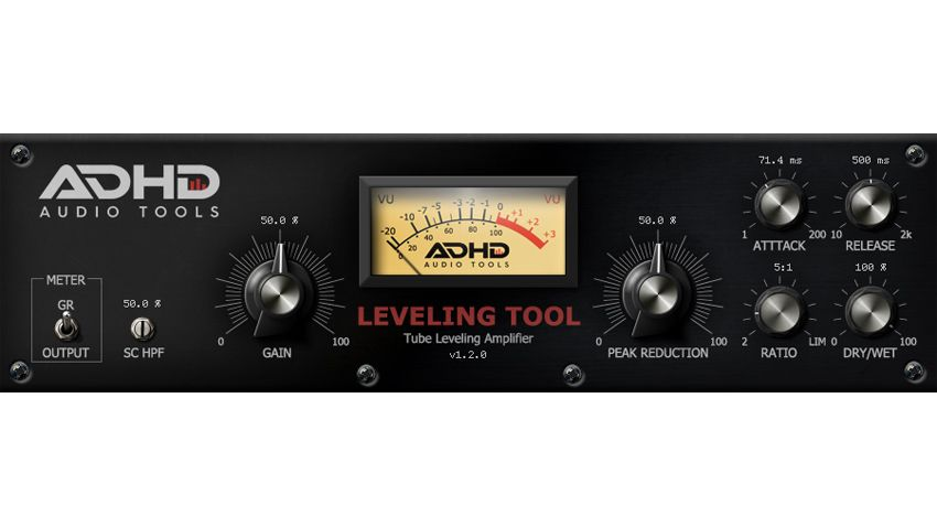 ADHD Audio Tools releases a free compressor plugin that's