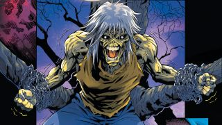 A shot of Eddie from the Iron Maiden comics