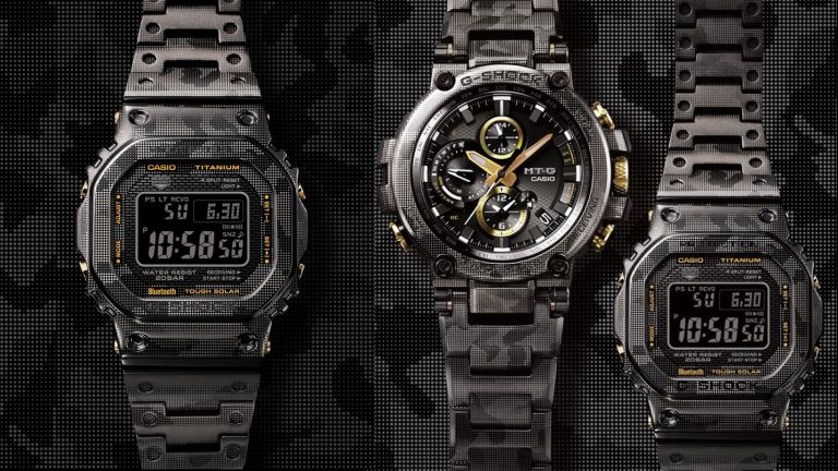 These iconic G-Shock watches have been given the urban camouflage treatment