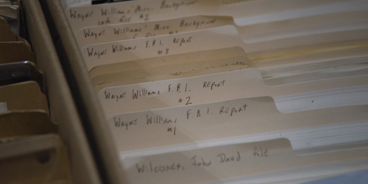A collection of files on Wayne Williams in Atlanta's Missing And Murdered: The Lost Children