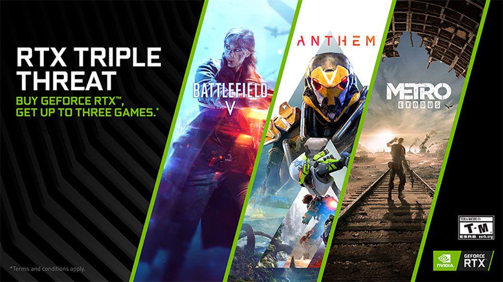 Nvidia announces a new game bundle, GPU driver, and more 'G