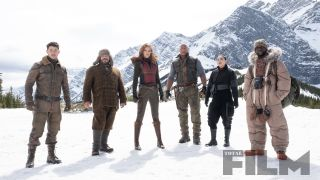 The cast freeze for these exclusive images