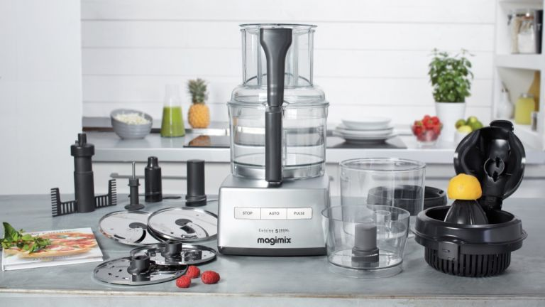 food processor attachments and what they do