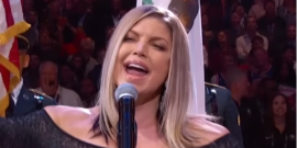 Fergie Responds To Infamous National Anthem Performance