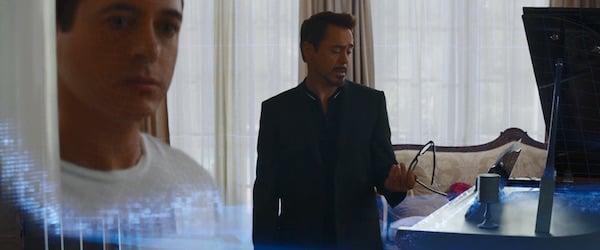 Tony Stark using B.A.R.F. technology in Captain America: Civil War