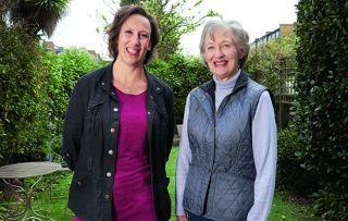 This new three-part series follows Miranda Hart's mum Dee Hart Dyke the talented gardener
