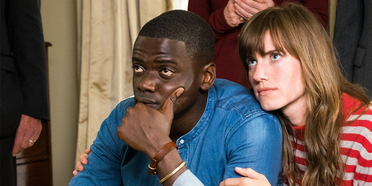 From left to right: Daniel Kaluuya and Allison Williams