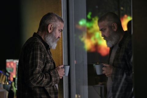 George Clooney directs and stars in 'The Midnight Sky,' about a scientist on Earth trying to get an urgent message to a group of astronauts in space.