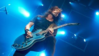 Dave Grohl with Gibson ES-335