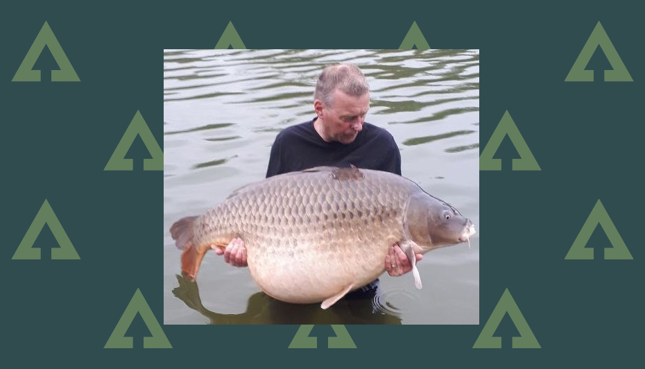 World record common carp caught by English angler