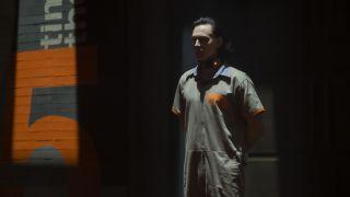 "Tom Hiddleston in ""Loki"" on Disney Plus."