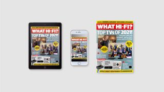 What Hi-Fi? December 2021 issue on sale now
