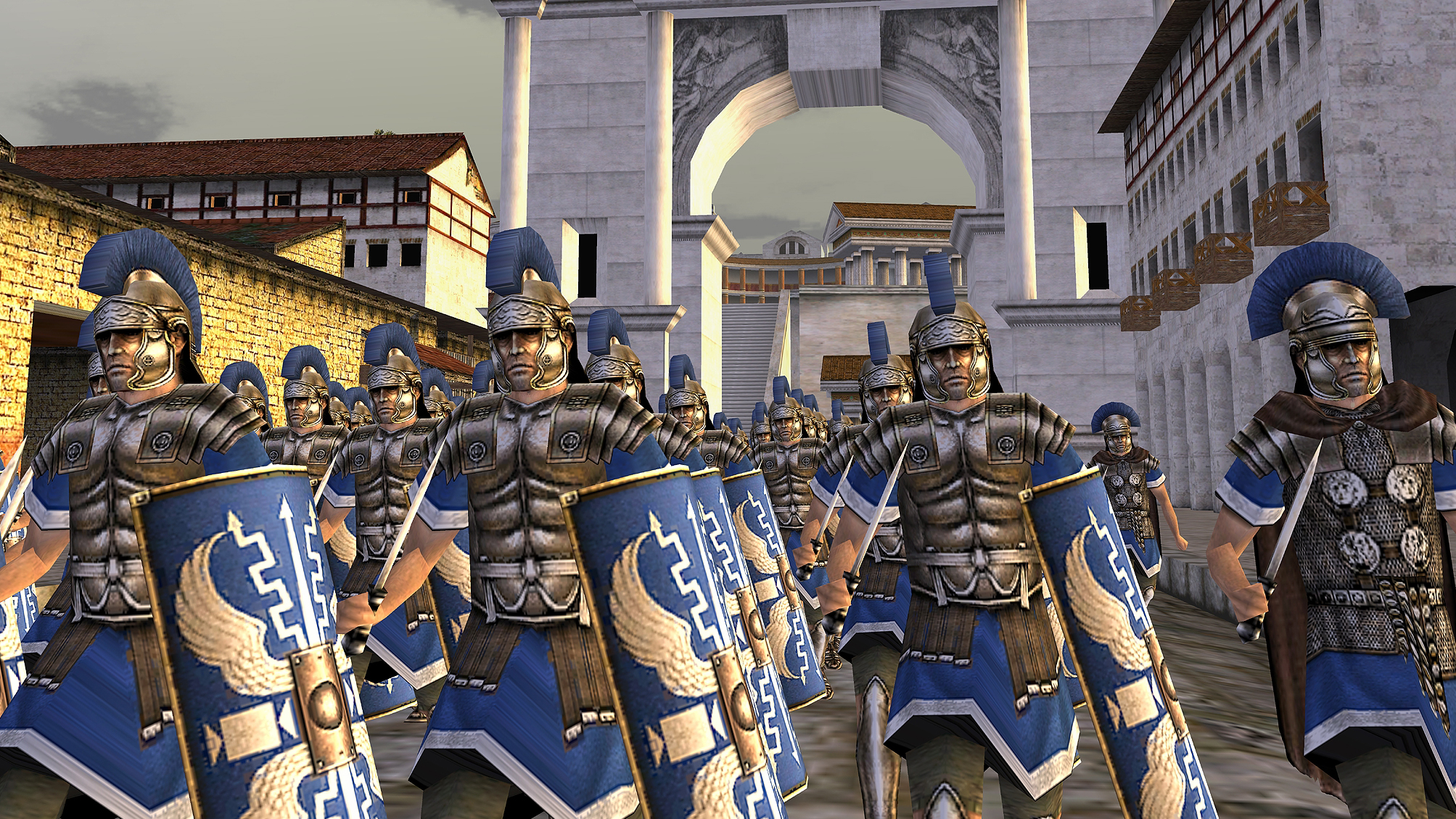 Rome: Total War is a classic game which you can run on your pocket device.