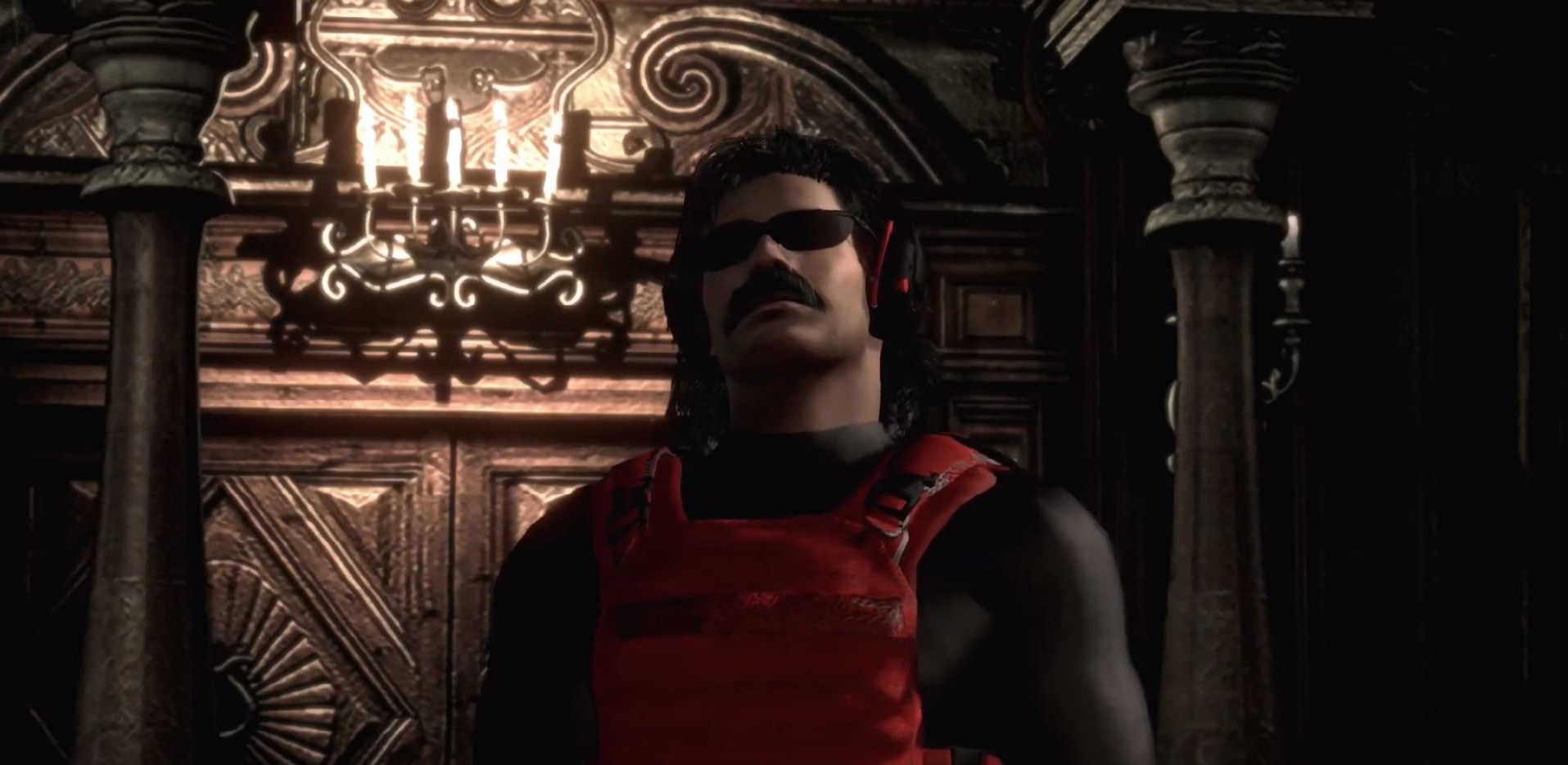 Dr Disrespect saves Raccoon City in these two Resident Evil mods
