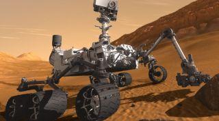 Mars 2020 rover conception