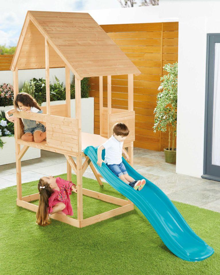 ALDI playhouse and climbing frame
