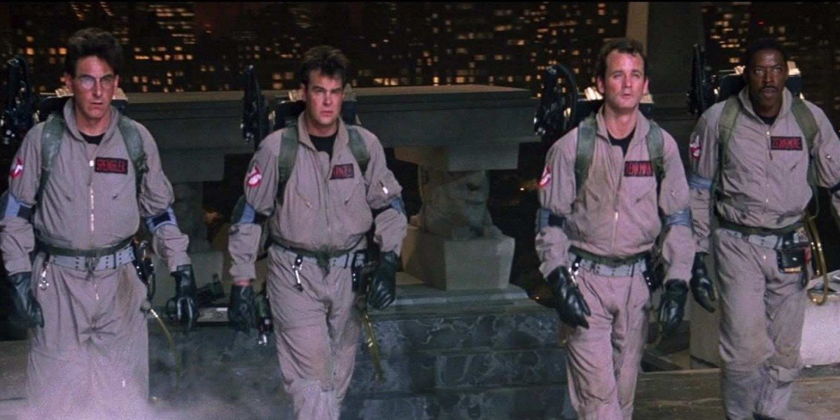 The cast of Ghostbusters (1984)