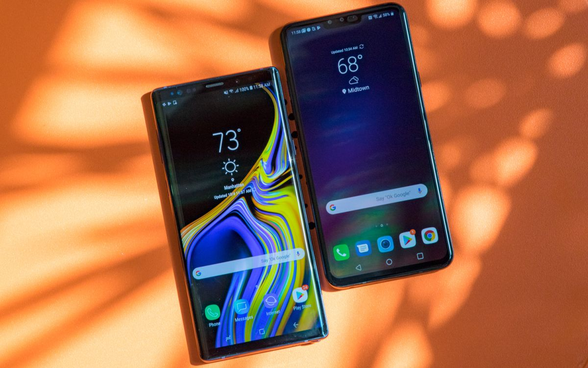 LG V40 ThinQ vs  Galaxy Note 9: It's Not Even Close | Tom's