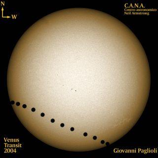 Venus Transit of Sun